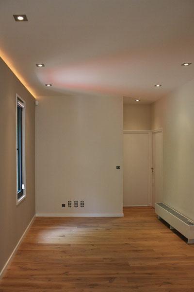 Le couloir des chambres