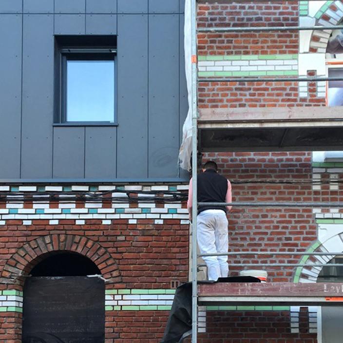 Extension de 3 logements et d 39 un bureau for O architecture lambersart