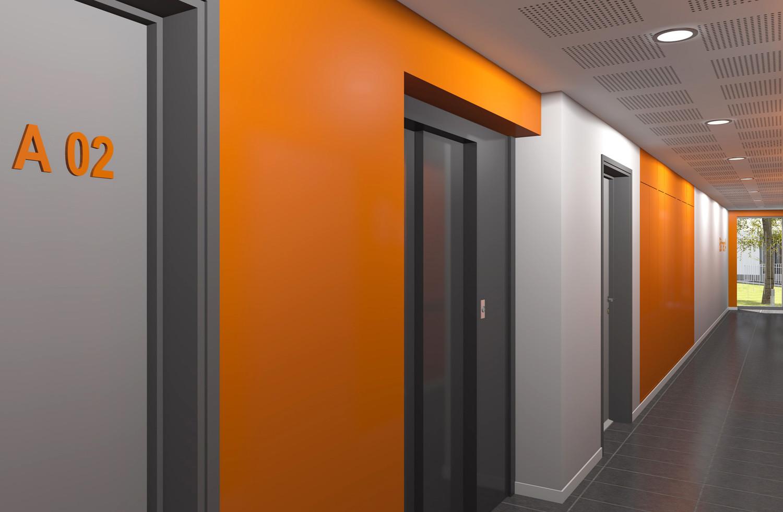 Couloir RDC-A-1-BD