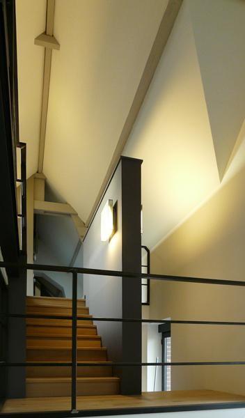 L'escalier depuis le séjour